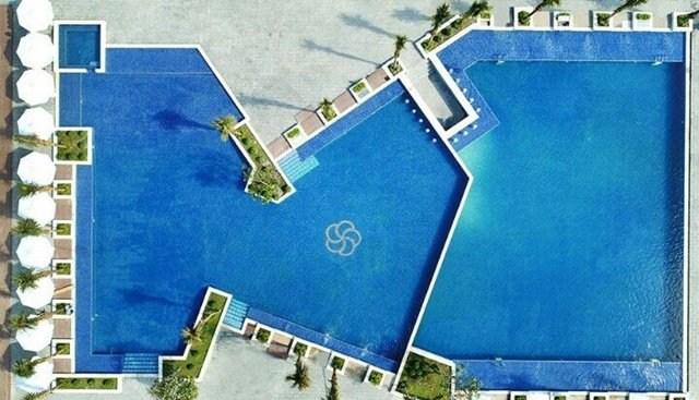 hồ bơi vô cực tại cam ranh mystery