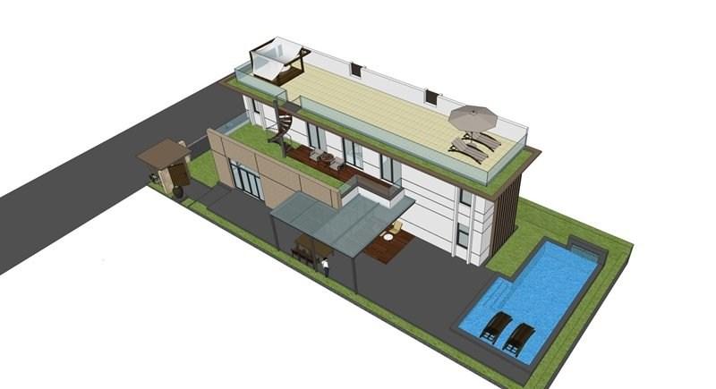 Thiết kế biệt thự Cam Ranh Mystery mẫu 2
