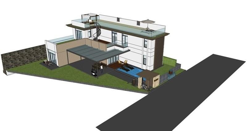 Thiết kế biệt thự Cam Ranh Mystery mẫu 3