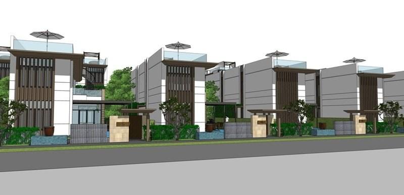 thiết kế dự án Cam Ranh Mystery Villas