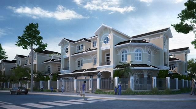 thiết kế nhà phố golden bay cam ranh