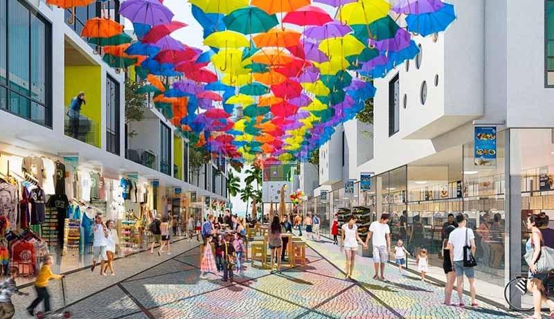 Tuyến Shophouse The Arena Cam Ranh