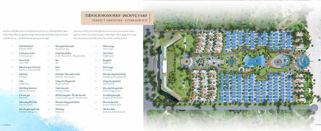 Tiện ích 5 sao tại Cam Ranh Bay Resort Hotel