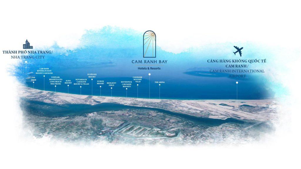 Vị trí Cam Ranh Bays trên Google Maps