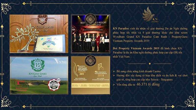 giải thưởng KN Paradise