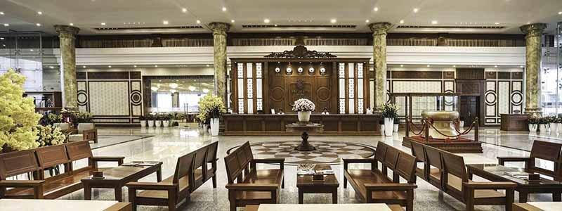 Phòng lễ tân KN Golf Links Cam Ranh