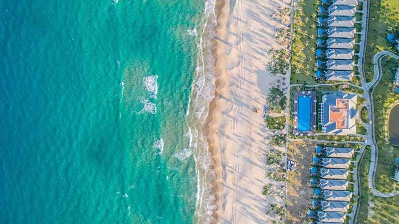 ảnh thực tế chụp từ biển