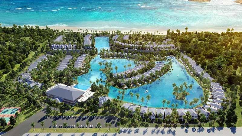 phối cảnh Vinpearl Cam Ranh Resort & Spa Long Beach Nha Trang