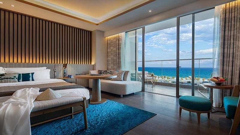 Deluxe Room 1 giường ngủ tại Radisson Blu Cam Ranh
