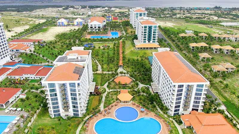 Các căn khách sạn tại Golden Peak Resort Cam Ranh