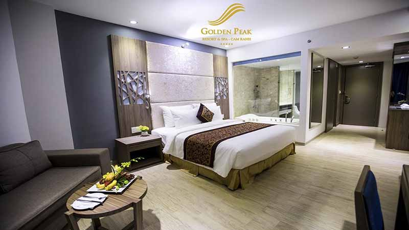 Phòng khách sạn tại Golden Peak Resort & Spa Cam Ranh