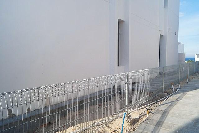 Xây dựng hàng rào sân vườn tại Biệt thự Cam Ranh Mystery Hưng Thịnh