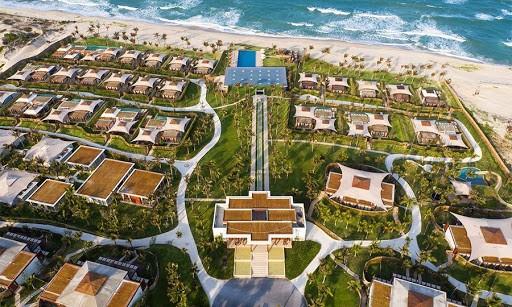 Dự án Fusion Resort Cam Ranh Sang Trọng Nhìn Từ Trên Cao