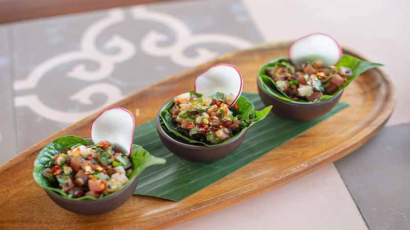 Món ăn Tại Nhà Hàng Fusion Resort Cam Ranh Luôn được Bày Trí Khéo Léo