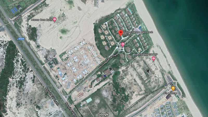 Vị Trí Fusion Resort Cam Ranh Trên Google Maps