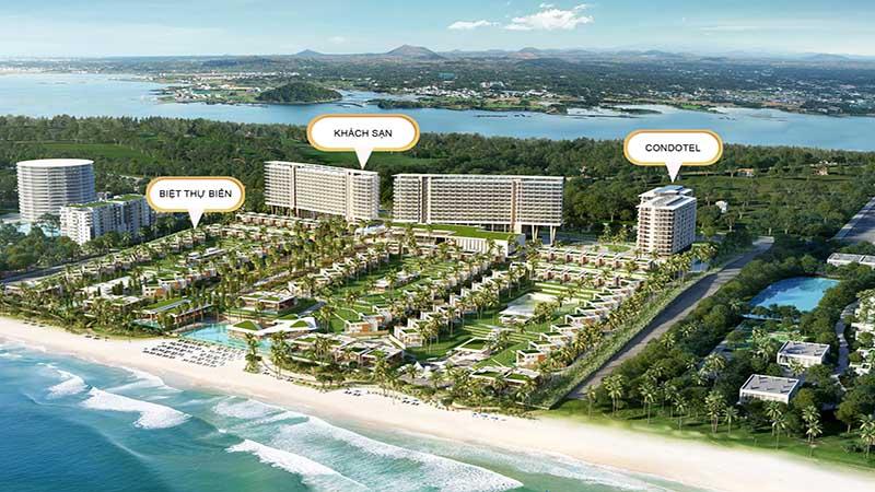 Khách sạn - Biệt thự tại Vogue Resort Cam Ranh