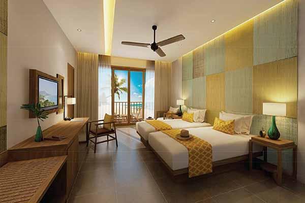 PhÒng Family Terrace - Amiana Resort Cam Ranh