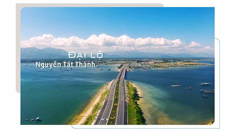 Đại Lộ Nguyễn Tất Thành Nối Tp Cam Ranh - Bãi Dài - Tp Nha Trang