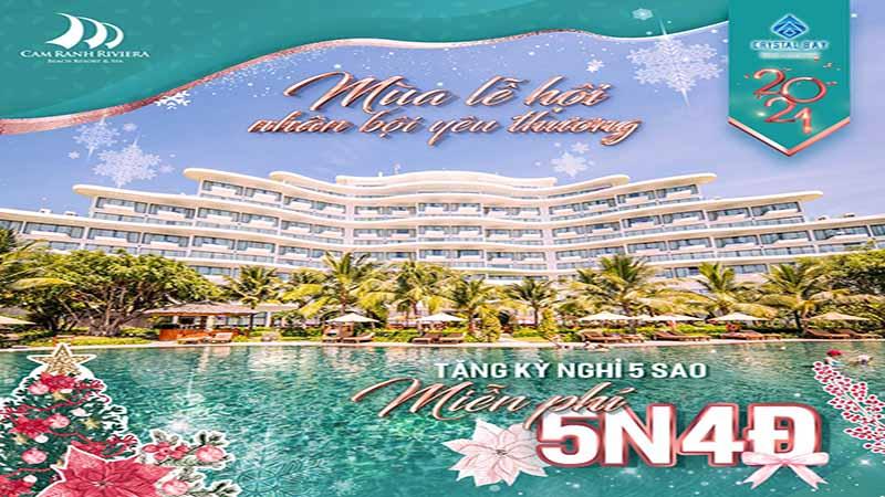 Chương Trình ưu đãi Tại Cam Ranh Riviera - Mùa Lễ Hội Nhận Bội Yêu Thươn