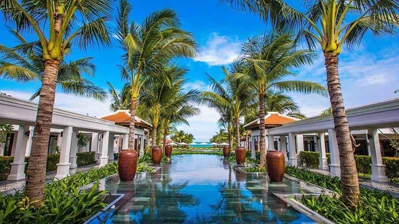 Không Gian Yên Tĩnh Tại The Anam Resort