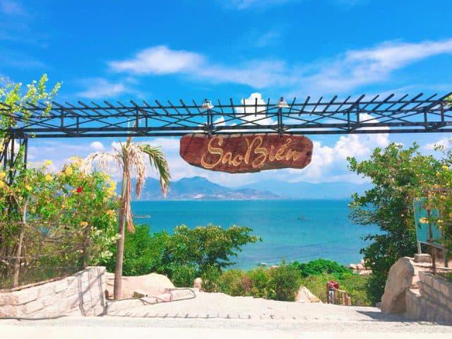 Cổng vào Sao Biển Cam Ranh