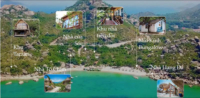 Các loại phòng nghỉ tại Sao Biển Cam Ranh