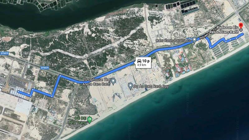 Khách sạn gần sân bay Radisson Blu Resort Cam Ranh