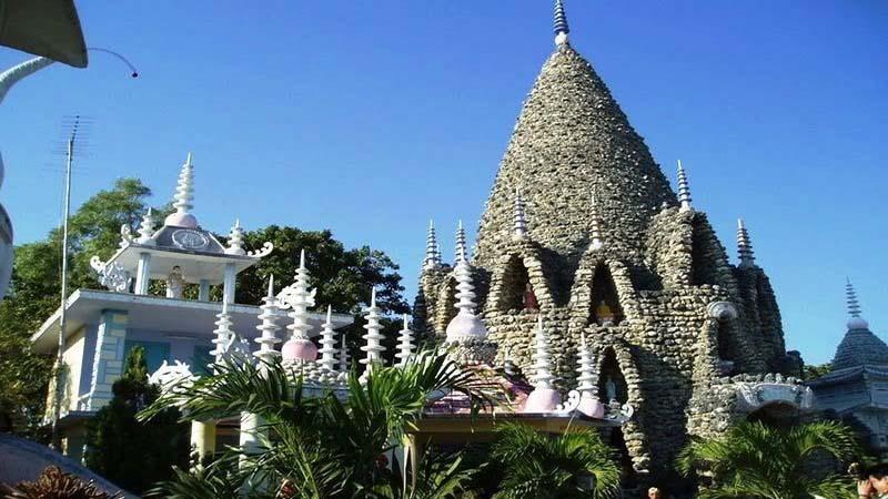 Kiến trúc độc đáo tại Chùa Ốc Cam Ranh