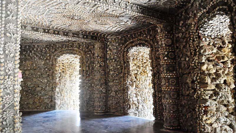 Kiến trúc từ vỏ ốc tại Chùa Từ Vân Cam Ranh